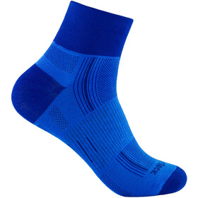 Wrightsock Stride Quarter Socks blue